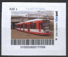 Biber Post Tw 627 In Halle (Tram) (52)  G473 - BRD