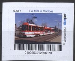 Biber Post Tw 109 In Cottbus (Tram) (48)  G476 - BRD