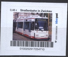 Biber Post Straßenbahn In Zwickau (Tram) (48)  G478 - BRD