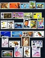 MALI 1992 1146-72 579-94 C558-68 575-89 PA 547-58 OLYMPIC MOON NAPOLEON OVERPRINT OVPT SURCHARGED SURCHARGE URGENCE MNH - Mali (1959-...)