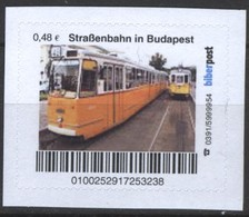 Biber Post Straßenbahn In Budapest (Tram) (48)  G479 - BRD