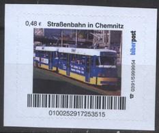 Biber Post Straßenbahn In Chemnitz (Tram) (48)  G480 - BRD