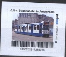 Biber Post Straßenbahn In Amsterdam (Tram) (48)  G481 - BRD