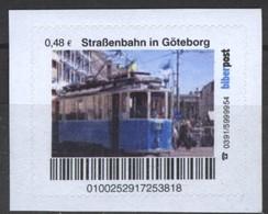 Biber Post Straßenbahn In Göteborg (Tram) (48)  G482 - BRD