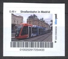 Biber Post Straßenbahn In Madrid (Tram) (48)  G483 - BRD