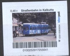 Biber Post Straßenbahn In Kalkutta (Tram) (48)  G485 - BRD