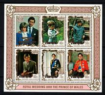 Penrhyn Mariage Prince Charles Lady Diana  Neufs Sans Charnière N° Yv BF 33 - Penrhyn