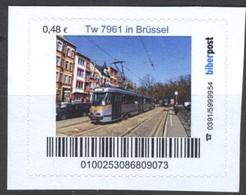 Biber Post Tw  7961 In Brüssel (Tram) (48)  G487 - BRD