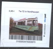 Biber Post Tw 72 In Nordhausen (Tram) (48)  G488 - BRD