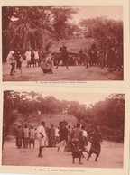 2 CPA COTE D'IVOIRE DANSE DU GRAND FETICHE - Ivory Coast
