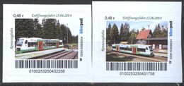 Biber Post 2 Mkn Rennsteigbahn Eröffnungsfahrt 15.06.2014 (Tram) (48)  G491 - BRD