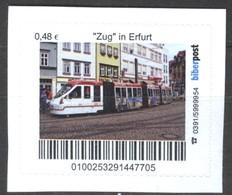 "Biber Post ""Zug"" In Erfurt (Tram) (48)  G492 - BRD"