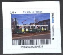 Biber Post Tw  232 In Plauen (Tram) (48)  G493 - BRD