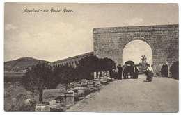 An Ancient Octrine. Species. Malta. The Village Of Arb On The Island Of Gozo. Aqueduct. Aqueduct - Via Garbo, Gozo - Malta