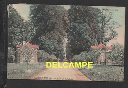 DD / 39 JURA / NEUBLANS / ALLÉE DU CHÂTEAU / CIRCULÉE EN 1909 - France