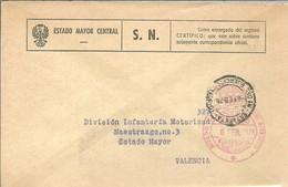ESTADO MAYOR CENTRAL 1976 - Franquicia Militar