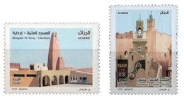 ALGERIE ALGERIA 2015 - MOSQUEES MOSKS RELIGION ISLAM ARCHITECTURE METLILI GHARDAIA - MNH ** - Islam
