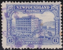 Newfoundland  .    SG   .      184       .       O      .  Gebruikt      .    /   .   Cancelled - Newfoundland