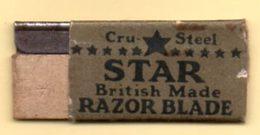 Rasage. Razor Blade. Lame De Rasoir. Lame Star, British Made. - Lames De Rasoir