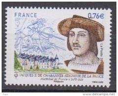 2015-N°4955** JACQUES II DE CHABANNES - France
