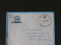 78/572A  LETTRE CASQUES BLEUES  1993 - Belgium