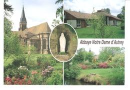 Autrey-(Rambervillers-Saint-Dié-Vosges)-Multivues-Abbaye Notre-Dame D'Autrey-statue-parc-Ecole-cours Agnès De Langeac - Rambervillers