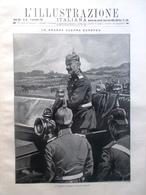 L'illustrazione Italiana 6 Settembre 1914 WW1 Louvain Papa Benedetto XV Conclave - Guerra 1914-18