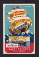 CPA Publicité.   Produits Jacques-Coeur.  Filets De Morue.  Bateau, Navire. - Publicité
