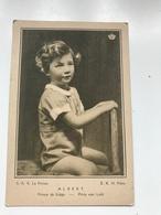 Carte Postale Ancienne HUILE DE TABLE DES CHARTREUX S.A.R. ALBERT Prince De Liège - Publicité