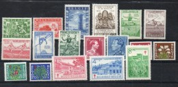 Année 1950 **  (18 V+ 1Bl) - Bélgica