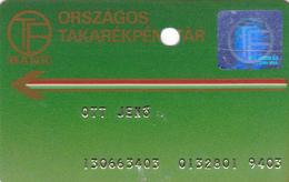 Hungary Bank Card Extra Rare OTP - Geldkarten (Ablauf Min. 10 Jahre)