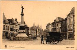 AVENIR Grande Chariot De Pain NELS  1 CPA  C1930 - Hondenkar Attelage De Chiens Flamand, Doornik TREKHOND - Marchands Ambulants