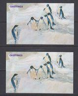 Penguins Greeting Card 2x (40148) - Animals