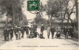 85 CHANTONNAY  Route De La Roche-sur-Yon (très Animée) - Chantonnay