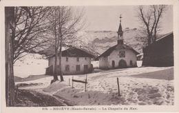 Haute  Savoie : MEGEVE : La  Chapelle   Du  Max - Megève