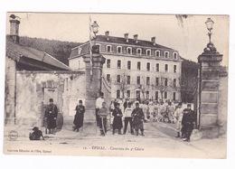 Jolie CPA Epinal (Vosges), Casernes Du 4ème Génie. A Voyagé En 1905 - Caserme