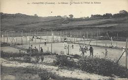 CARANTEC-LE KELENN-TENNIS-HOTEL-JOUEURS-SPORT - Carantec