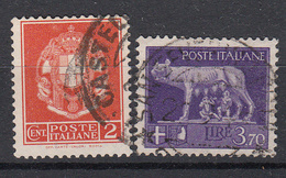 ITALIË - Michel - 1930 - Nr 358/59 - Gest/Obl/Us - 1900-44 Vittorio Emanuele III