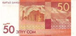 KYRGYZSTAN P.25  50 Som 2009 Unc - Kirghizistan