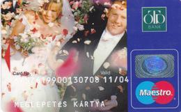 Hungary Bank Card - Geldkarten (Ablauf Min. 10 Jahre)
