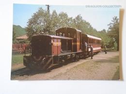 D160912   Hungary Mátrafüred    Train - Trenes