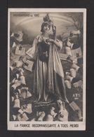 CPA. INONDATION DE 1910 . LA FRANCE RECONNAISSANTE A TOUS MERCI . - Inondations