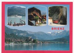 Modern Multi View Post Card Of Brienz, Berne, Switzerland,L44. - BE Berne