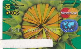 Hungary Bank Card Transparent  Rare - Geldkarten (Ablauf Min. 10 Jahre)