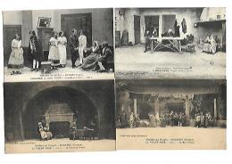 88 BUSSANG LOT DE 13 CPA SUR LE THEATRE DU PEUPLE - 5 - 99 Postales