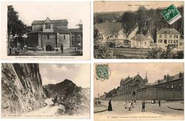 Lot 10 CPA  France Animées / Cléry, Jouy, Ajaccio, Roubaix ... / A Voir !!! - Postcards