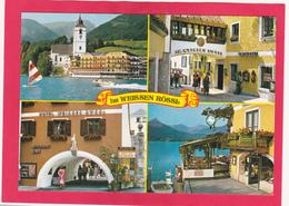 Modern Multi View Post Card Of Hotel Im Weissen Rössl In St Wolfgang,Austria,L44. - St. Wolfgang