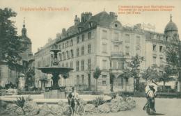 57  THIONVILLE  / Pelouses De La Promenade Crauser Avec Jet D'eau / - Thionville