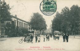 57  THIONVILLE  / Maison Du Commandant Et Porte De Metz / - Thionville