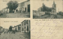 57  VAHL LES BENESTROFF / Auberge Victor Pierson Rue Principale Eglise / CARTE RARE - Autres Communes